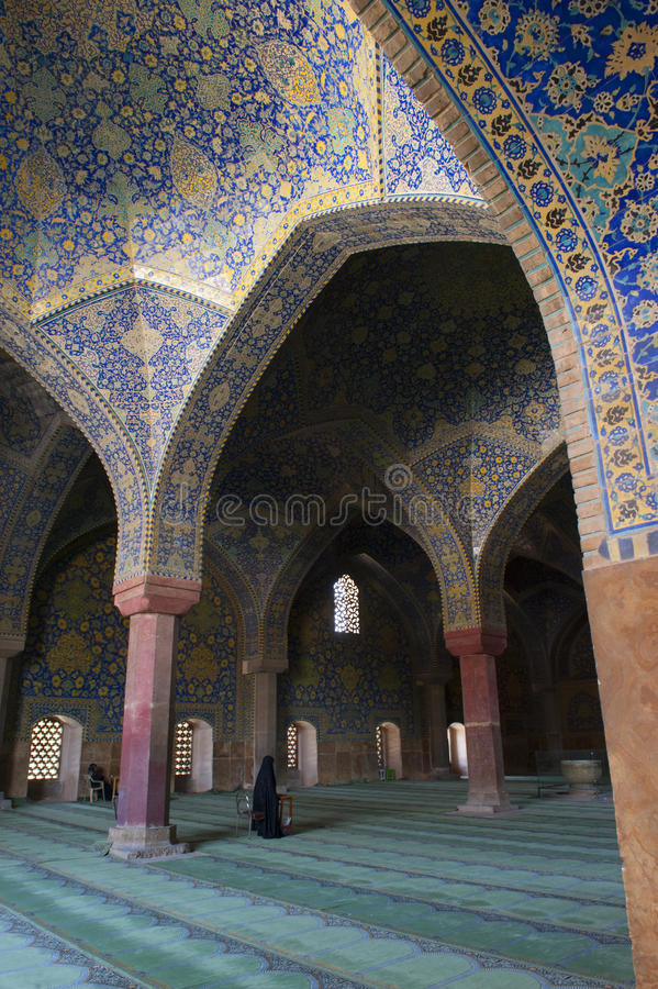 Blue Mosque in the Iran royalty free stock images