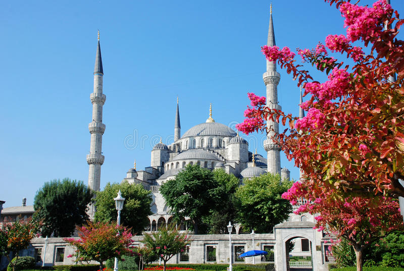 Download The Blue Mosque, Istanbul stock image. Image of middle - 24893871