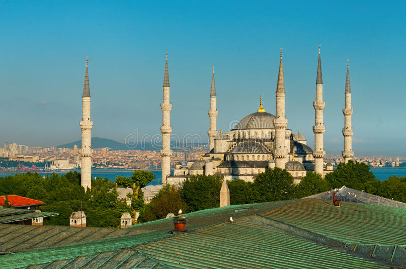 Download Blue Mosque in Istanbul stock image. Image of historical - 29349715