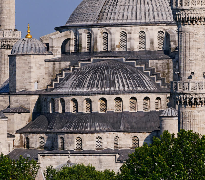 Download Blue Mosque in Istanbul stock photo. Image of ahmed, domes - 29350020