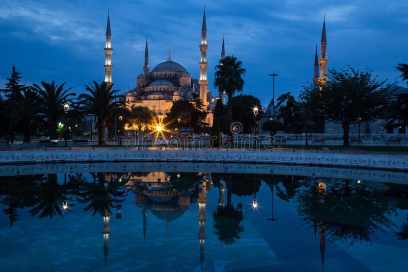 Blue Mosque, Istanbul, In Dawn S Early Light. Stock Image