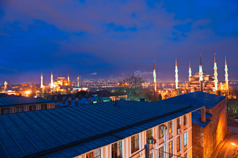 Download The Blue Mosque, Istanbul, Turkey. Stock Photo - Image: 18425130