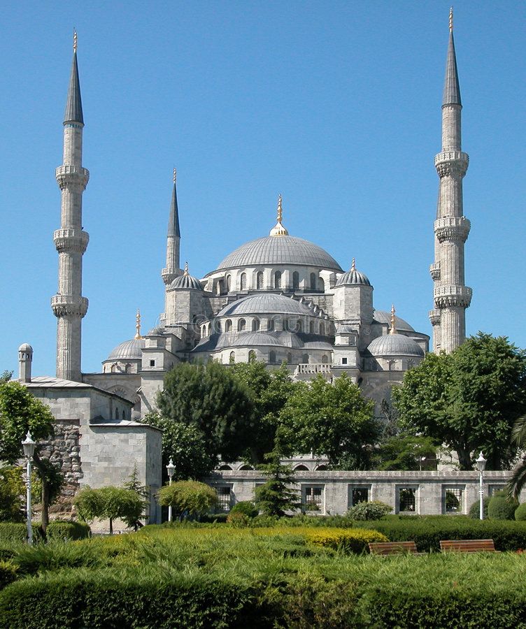 The Blue Mosque. Istanbul, Turkey. The Blue Mosque, Istanbul, Turkey royalty free stock photography