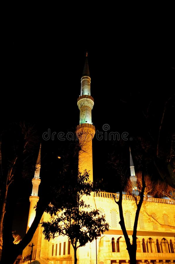 Download Blue Mosque at night stock photo. Image of istanbul, holywisdom - 39512456