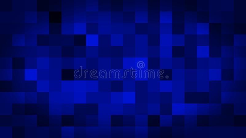 Blue motion abstract background colorful pixels flashing and switch royalty free illustration