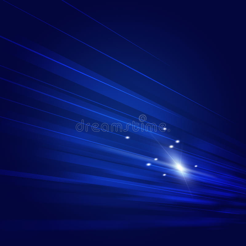 Download Blue Motion Tech Background Stock Illustration - Image: 33295504