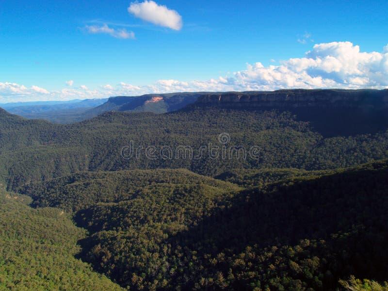 Blue mountains Australia stock photos