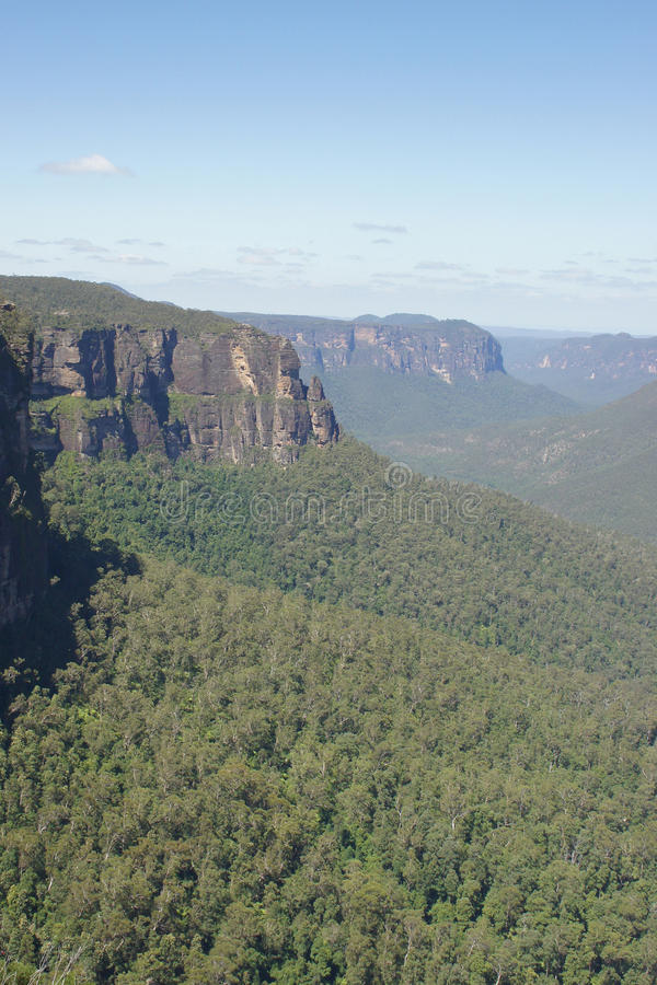 Blue Mountains National Park, Australia stock photography