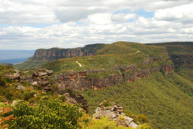 Blue Mountains National Park. Katoomba, New South Wales, Australia stock image