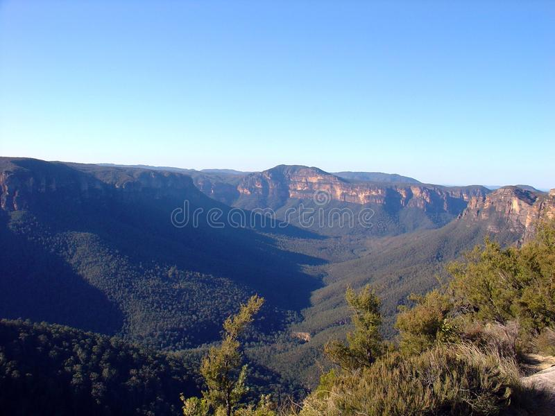 The Blue Mountains stock photography
