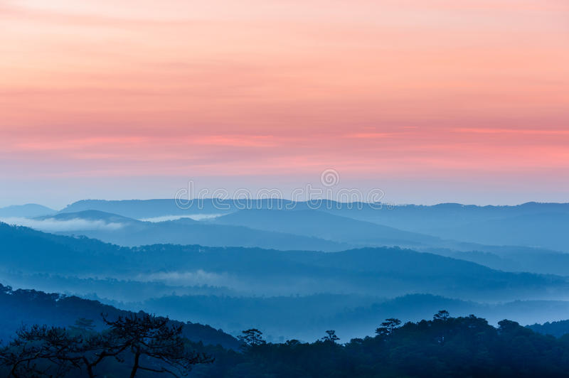 Blue Mountains Panorama royalty free stock photography