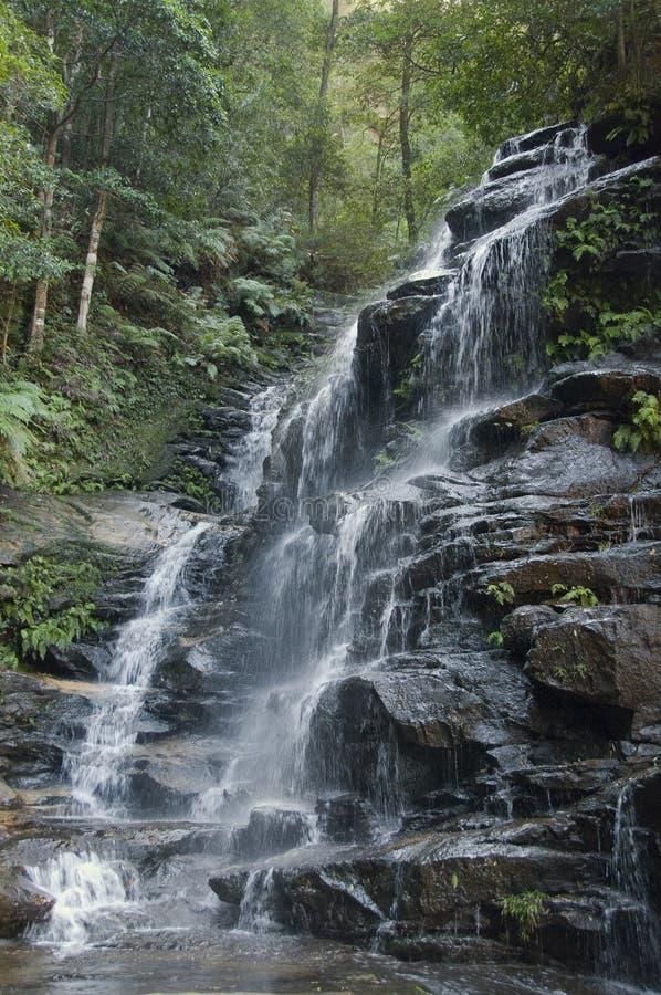 Blue Mountains waterfall stock photos