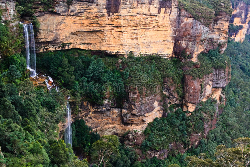 Blue Mountains Waterfall royalty free stock photos