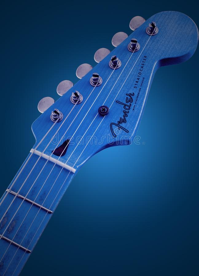 Blue, Musical Instrument, Plucked String Instruments, Guitar Free Public Domain Cc0 Image