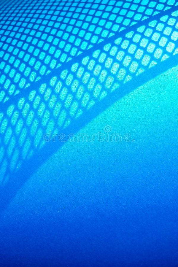 Blue Net Abstract Background stock image