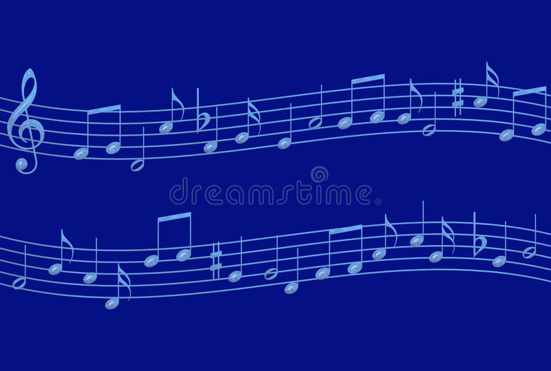 Download Blue Notes Royalty Free Stock Photography - Image: 11171797
