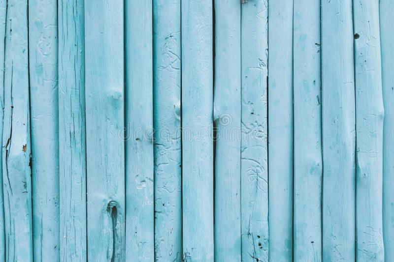 Blue ocean color wood background royalty free stock images