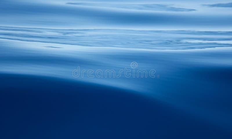 Blue Ocean Water stock photo