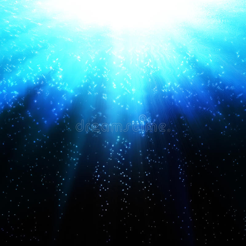 Blue ocean waves royalty free stock image