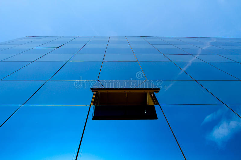 Blue office royalty free stock images