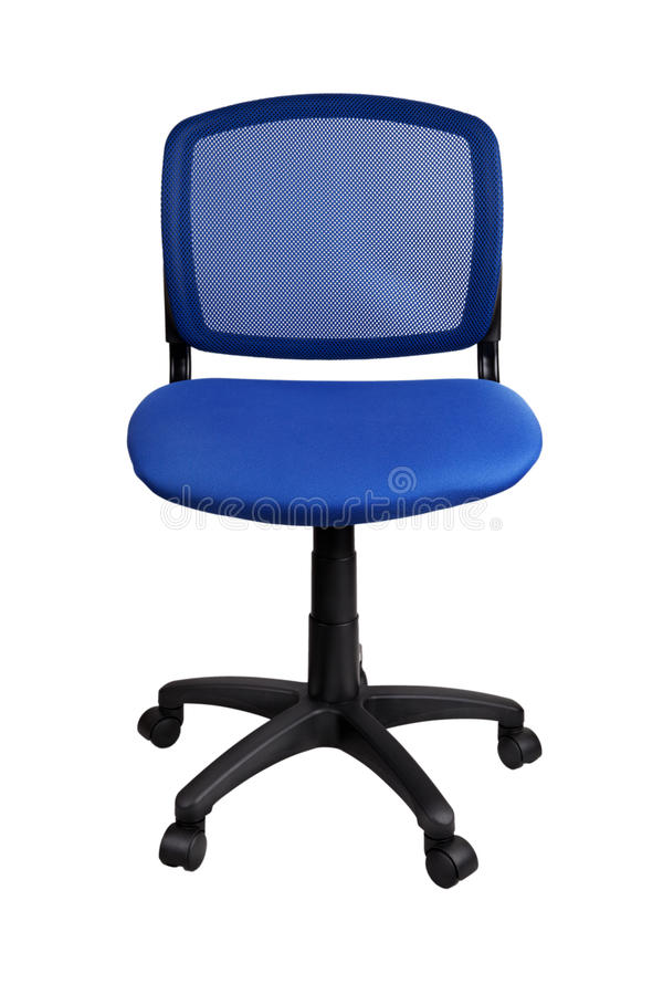 Download Blue office chair stock photo. Image of background, office - 67908286