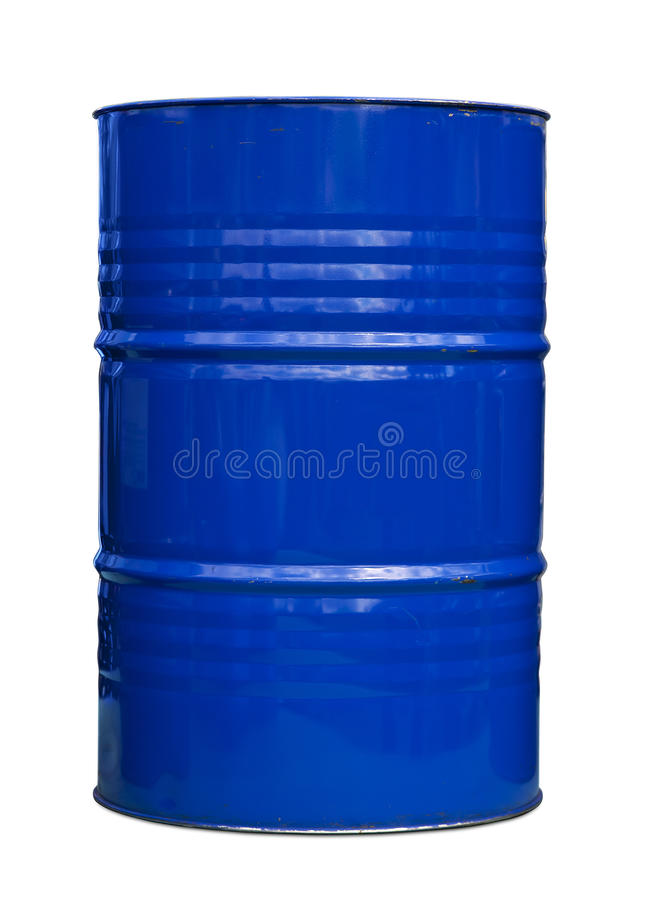 Free Blue Oil Barrel Stock Photo - 15091830