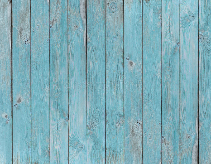 Blue Old Wood Planks Texture Or Background Stock Image ...
