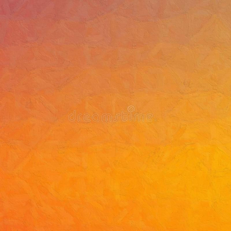 Blue and orange Impasto with soft brush in square shape background illustration. Blue and orange Impasto with soft brush in square shape background illustration royalty free illustration