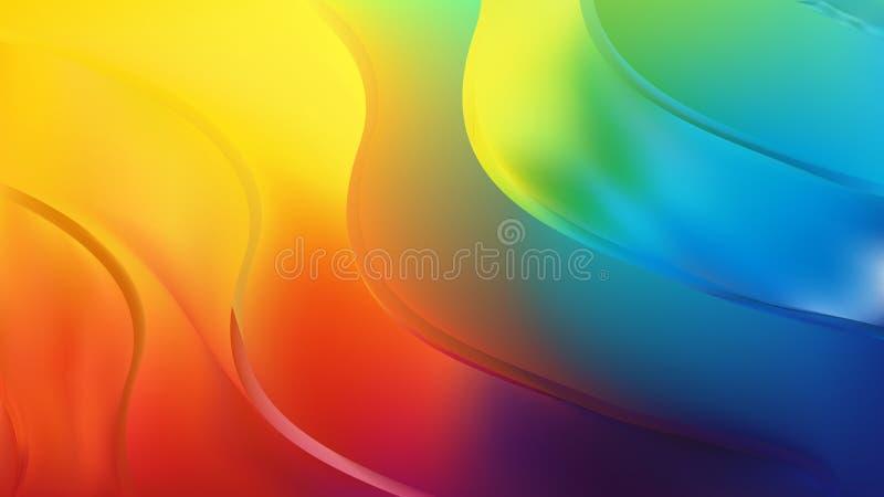 Blue Orange Yellow Background Beautiful elegant Illustration graphic art design Background. Image royalty free illustration