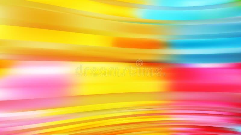 Blue Orange Yellow Background Beautiful elegant Illustration graphic art design Background. Image stock illustration