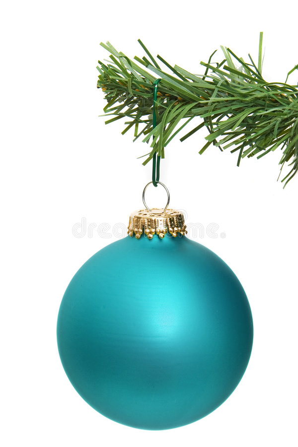 Free Blue Ornament Hanging Stock Photography - 3909502