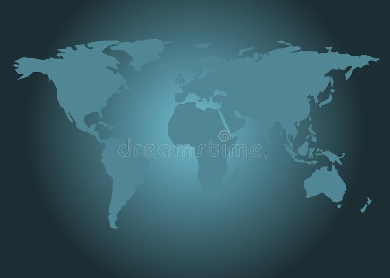 World map vector blue gradient background stock vector download world map vector blue gradient background stock vector illustration of continents america gumiabroncs Images