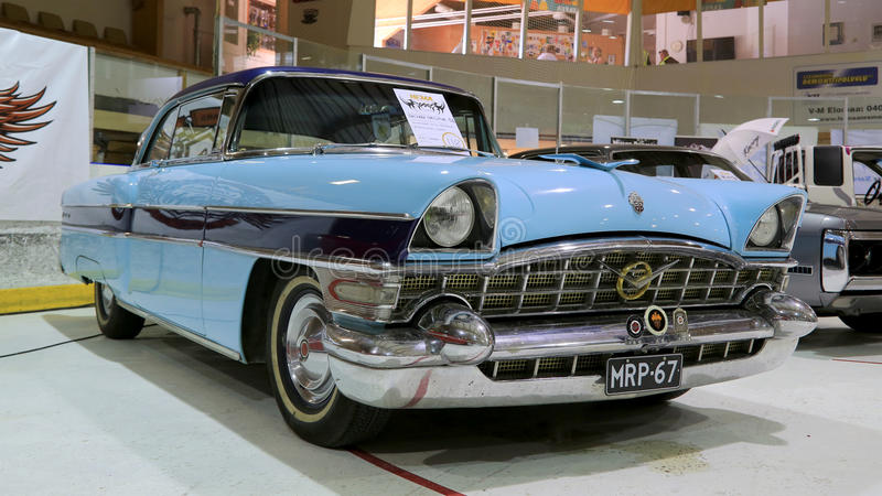 Download Blue Packard Executive 1956 Classic Car Editorial Stock Photo - Image: 41888083
