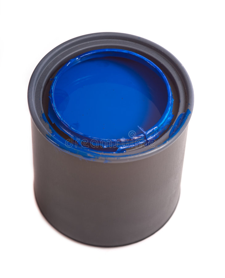 Blue Paint royalty free stock images