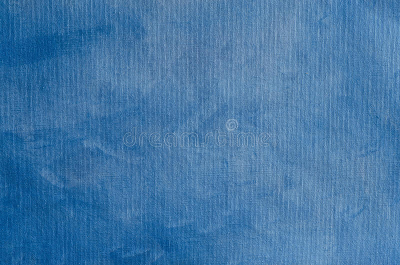 Blue painted background texture with pearly shimmer. Blue painted artistic canvas background texture with pearly shimmer royalty free stock photos