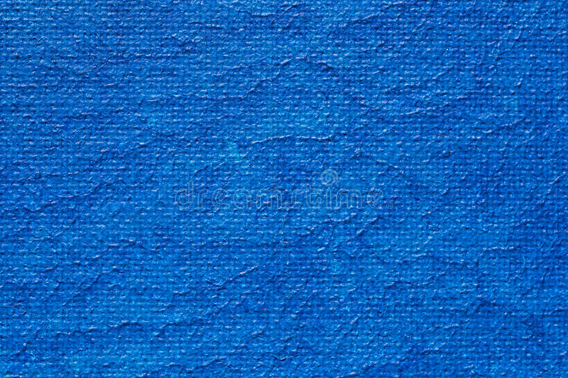 Blue Painted Canvas Royalty Free Stock Photography
