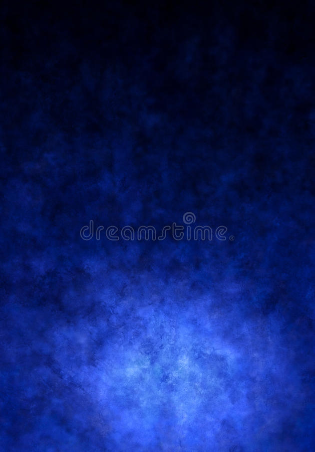 Blue Painted Canvas Background Stock Photo
