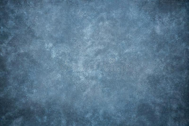 Blue canvas or muslin fabric cloth studio backdrop. Blue painted canvas or muslin fabric cloth studio backdrop royalty free stock photography