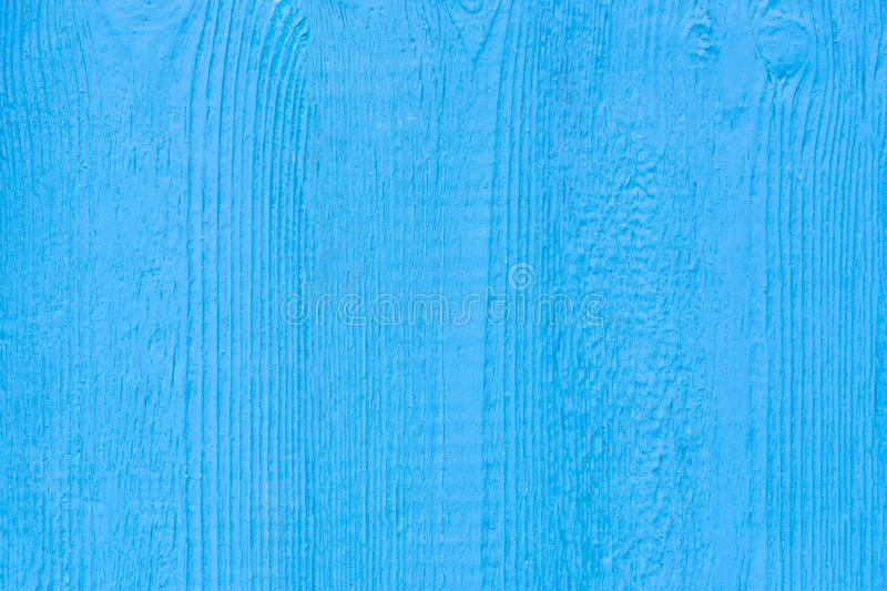 Blue painted wood planks as background or texture, Natural pattern.  royalty free stock images