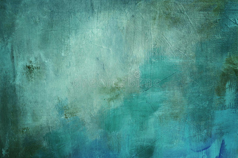 Blue painting background stock photos