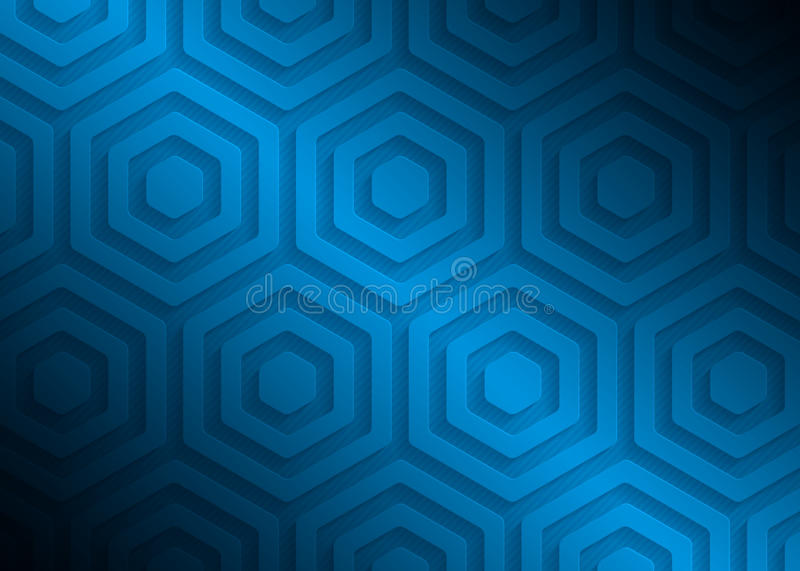 Blue paper pattern, abstract background template for website, banner, business card, invitation royalty free illustration