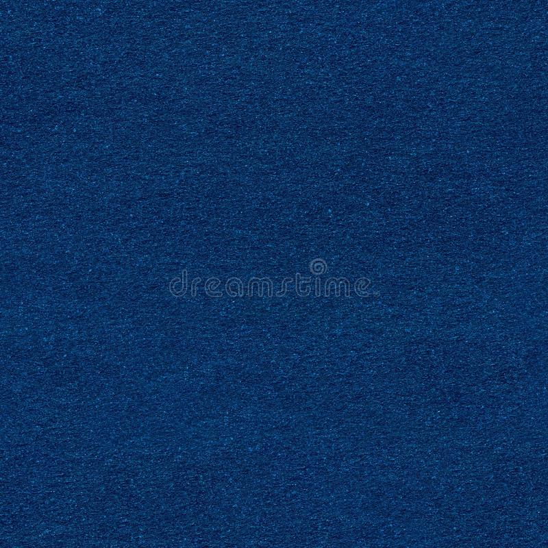 Blue paper texture. Seamless square background, tile ready. stock photography