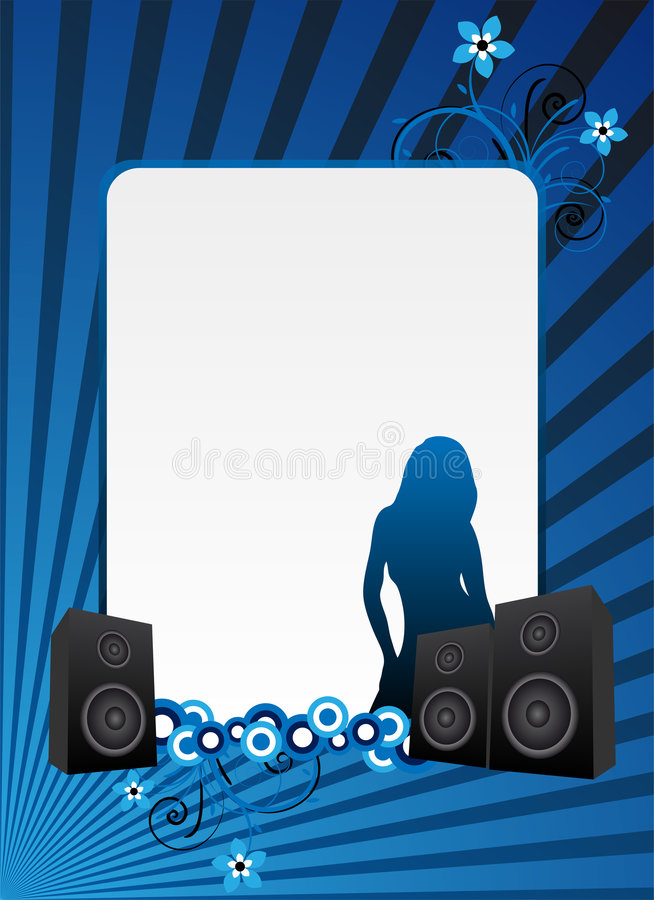 Download Blue Party Background Stock Photography - Image: 9249132
