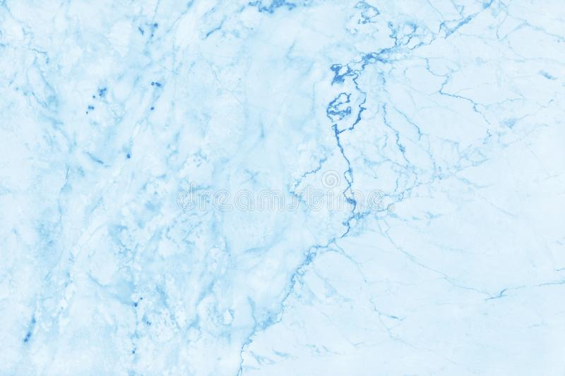 Blue pastel marble texture background with high resolution, top view of natural tiles stone in luxury and seamless glitter pattern stock image