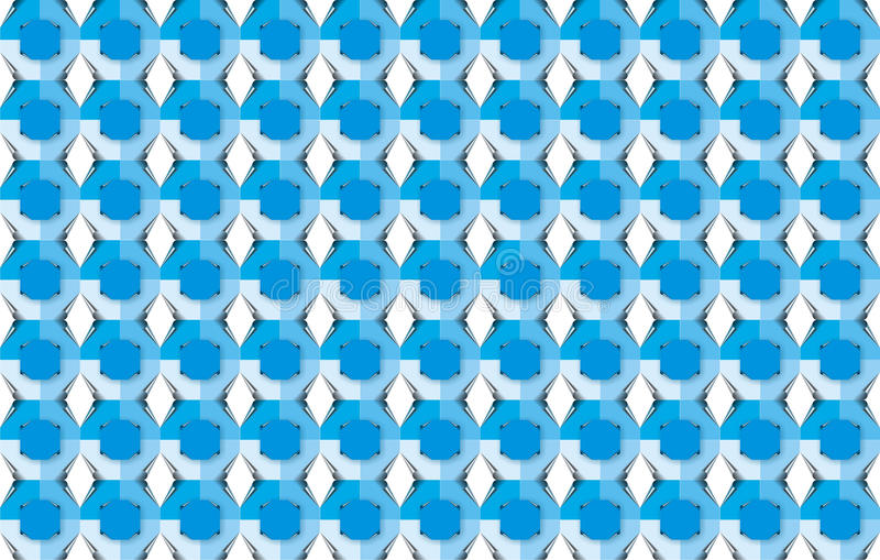 Blue pattern series royalty free stock photos