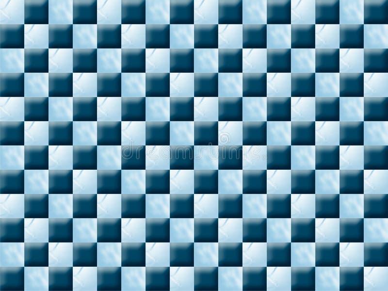 Blue pattern series stock image