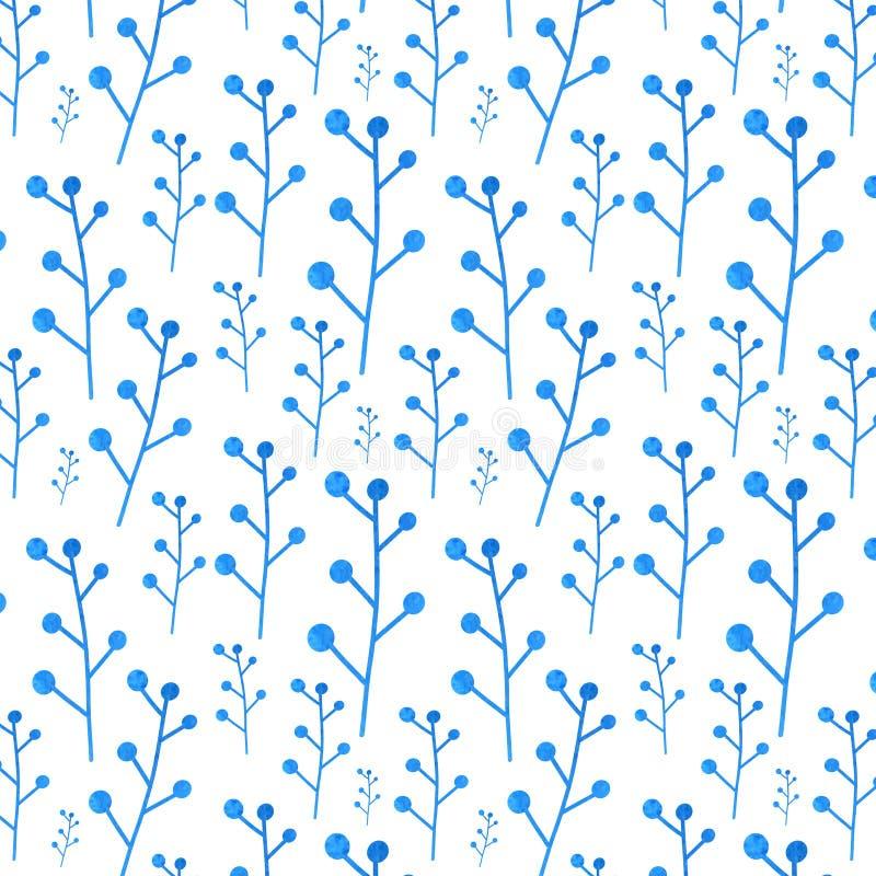 Blue pattern royalty free illustration