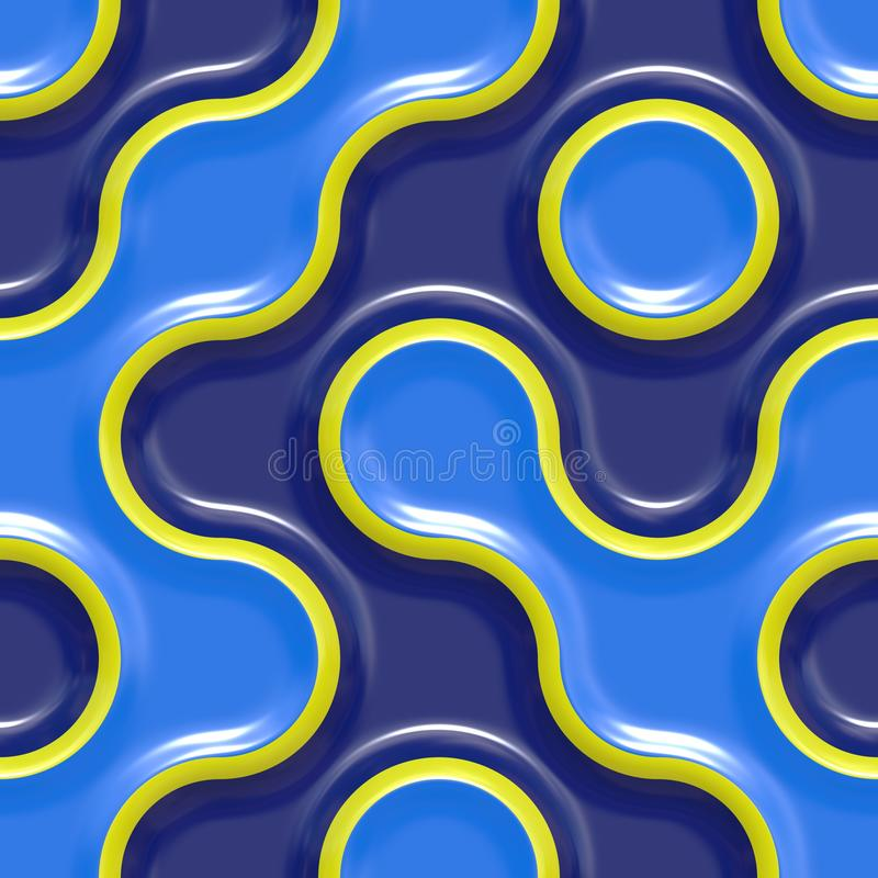 Blue, Pattern, Yellow, Circle stock images