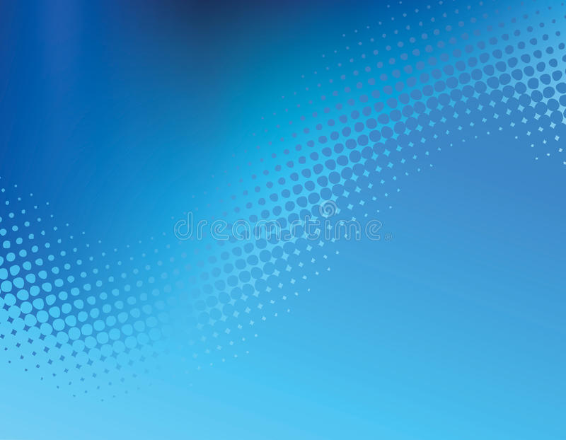 Blue Patterned Background Stock Images