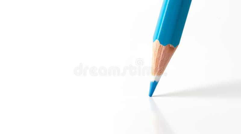 Download Blue Pencil Royalty Free Stock Images - Image: 23056639